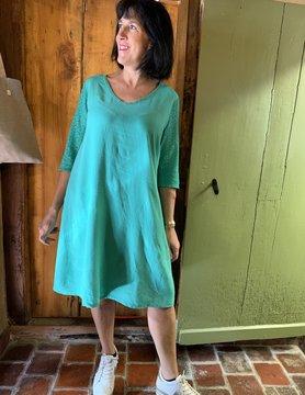 Maloka Robe raine vert celadon