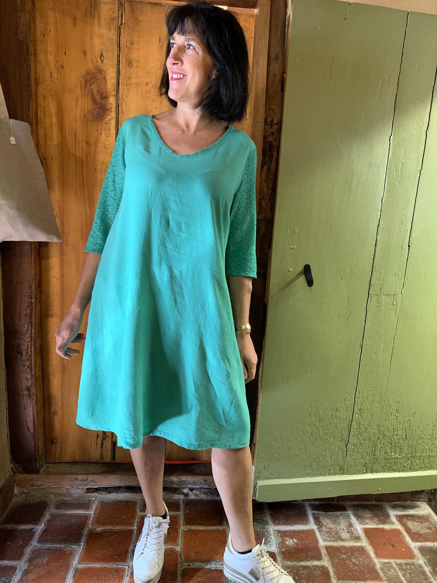 Maloka Celadon green raine dress