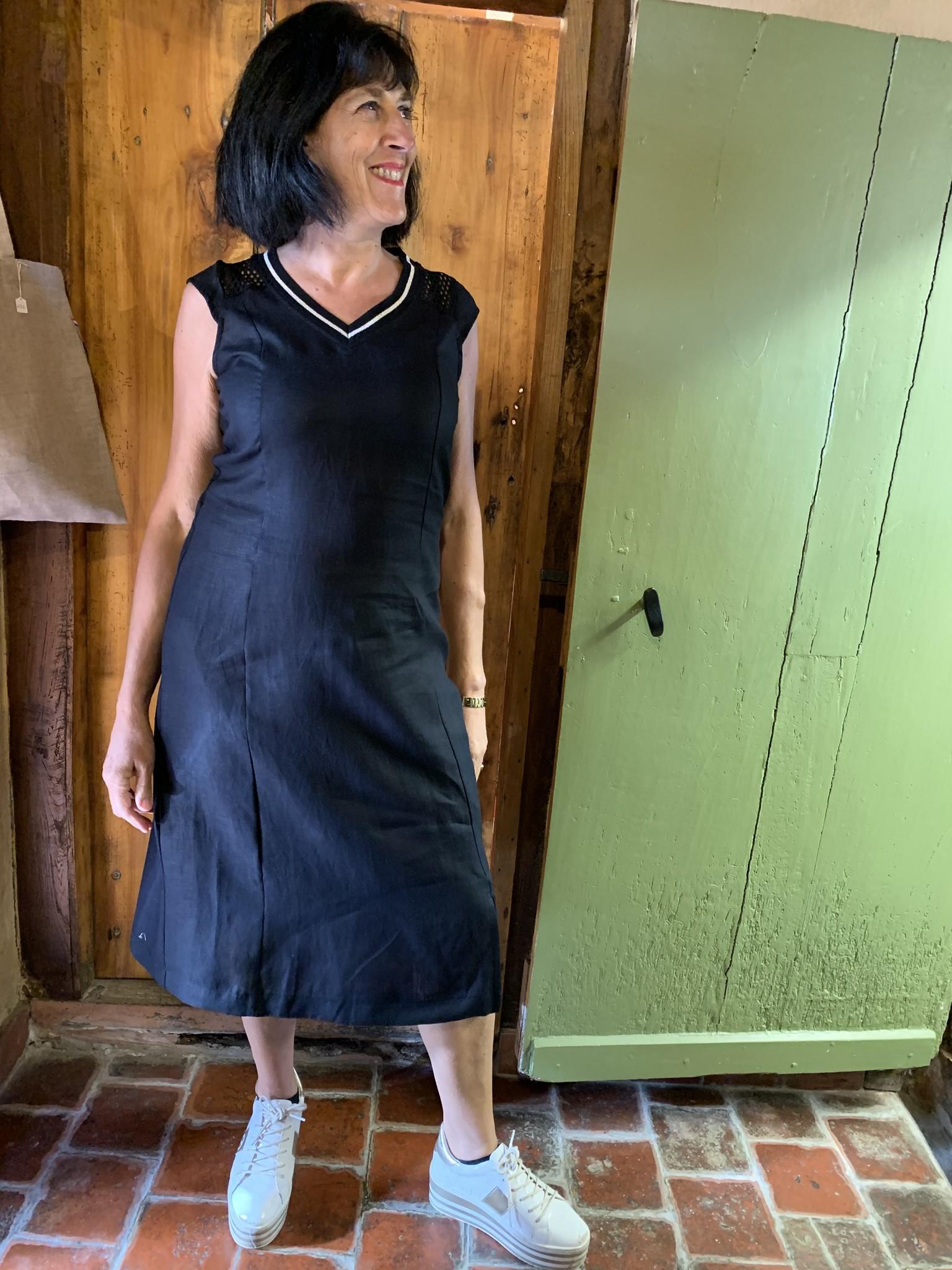 Maloka Robe Ryann noire