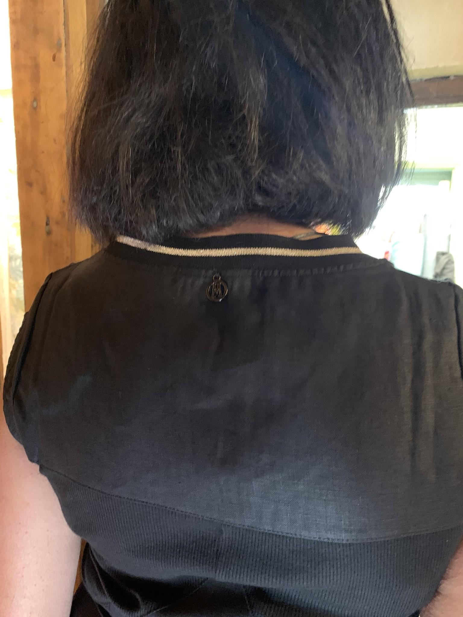 Maloka Zwarte Ryann jurk