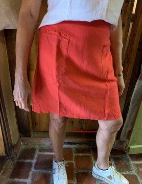 Maloka Jovial poppy skirt