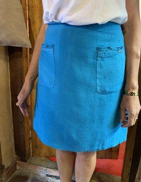 Maloka Jovial skirt in celestial blue