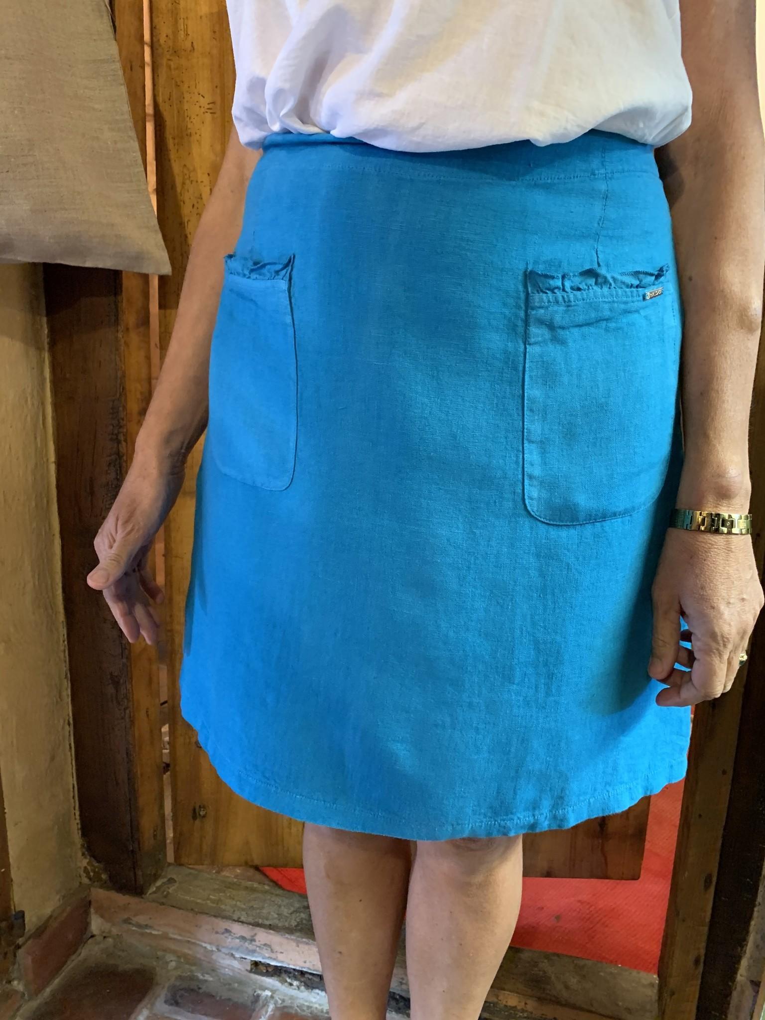 Maloka Jovial rok hemelsblauw