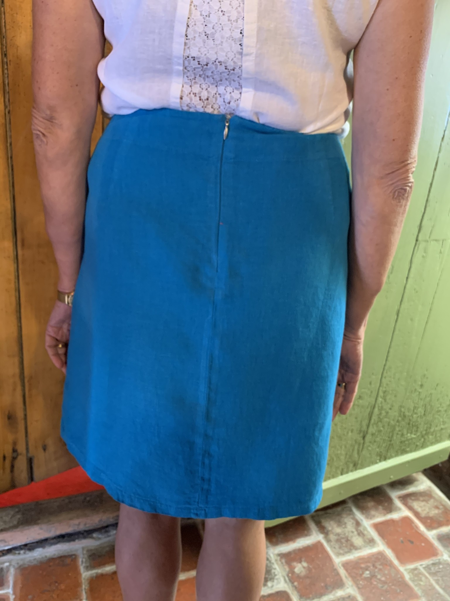 Maloka Jupe jovial bleu celeste