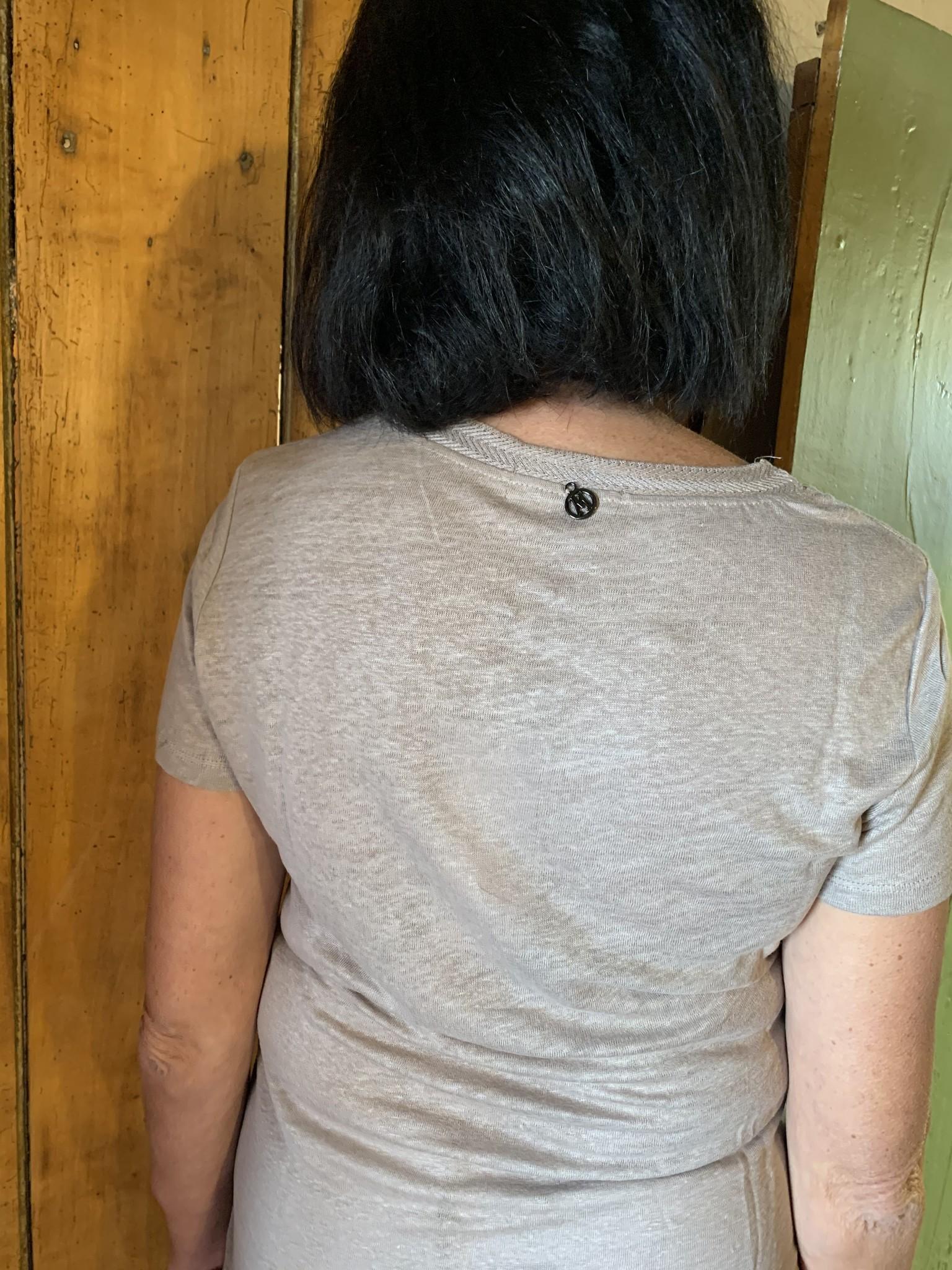 Maloka T-shirt mattea taupe