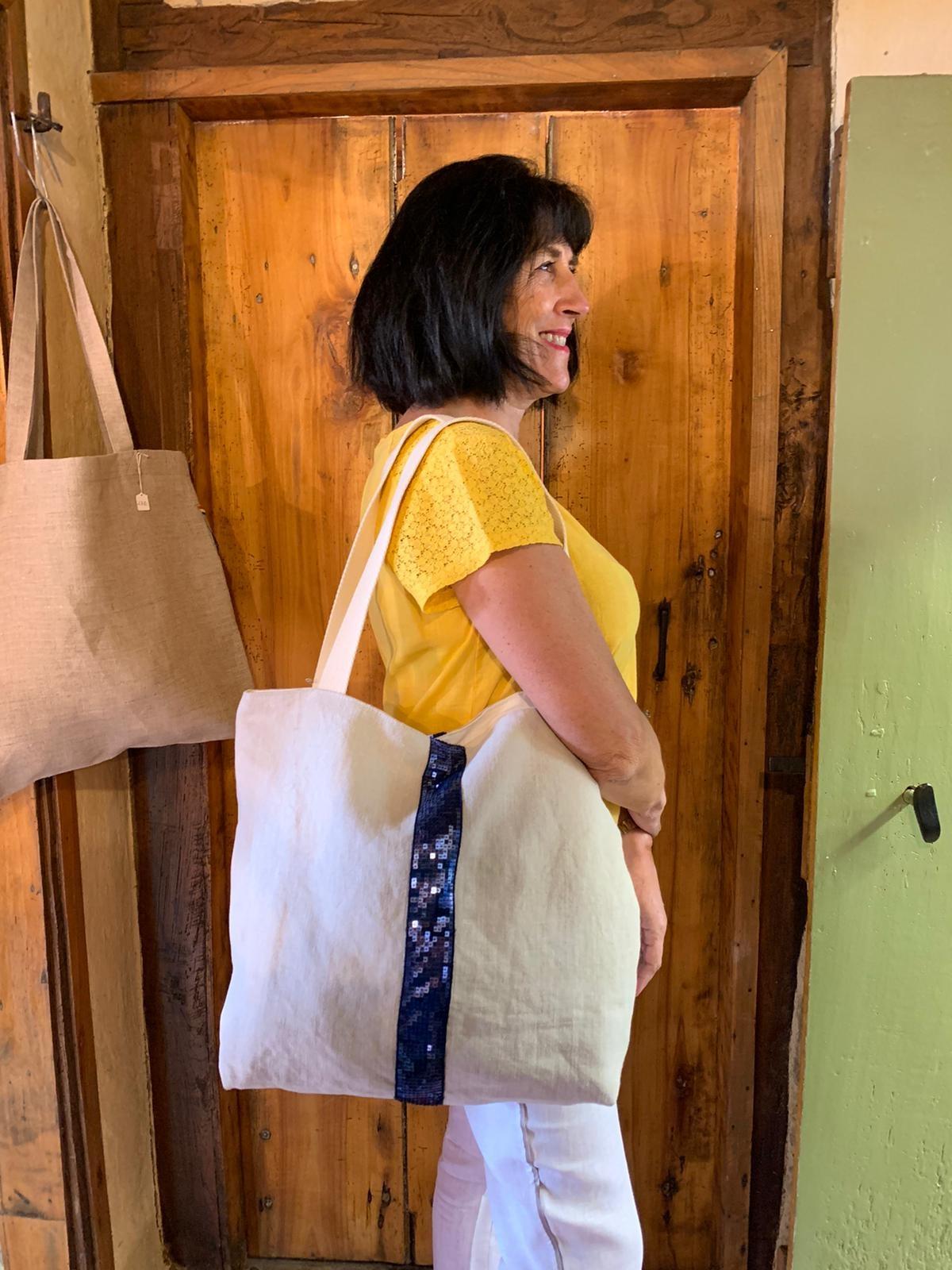Le grenier du lin sac paillettes