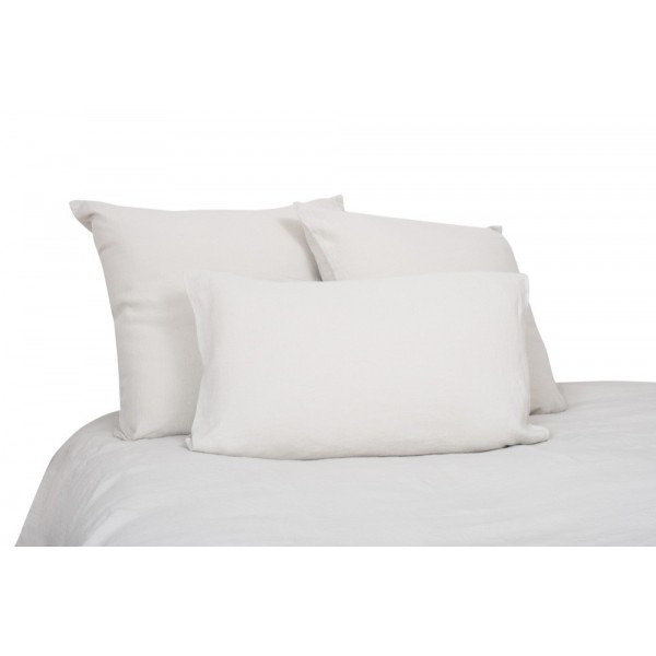 pillow case in natural washed linen
