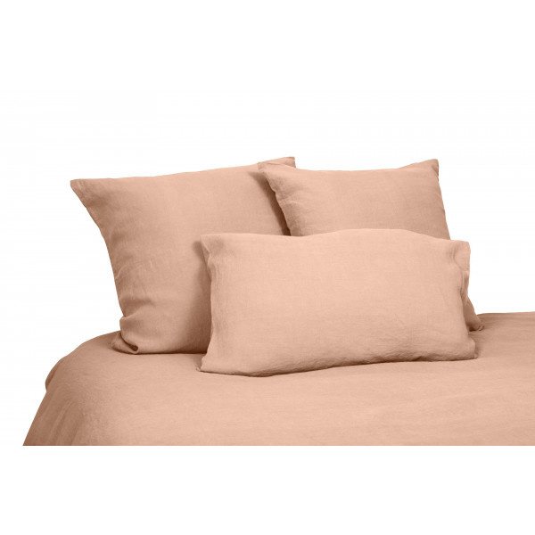 flat sheet in washed linen cimarron