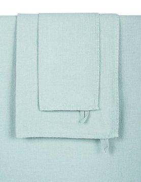 celadon gekleurde badhanddoek