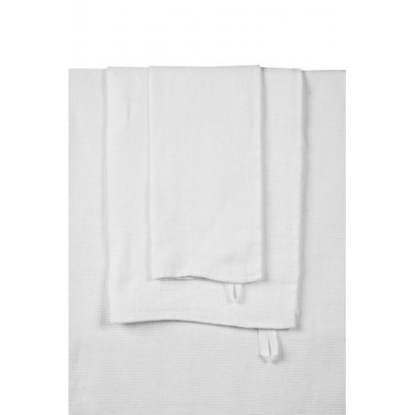 wit linnen badlaken