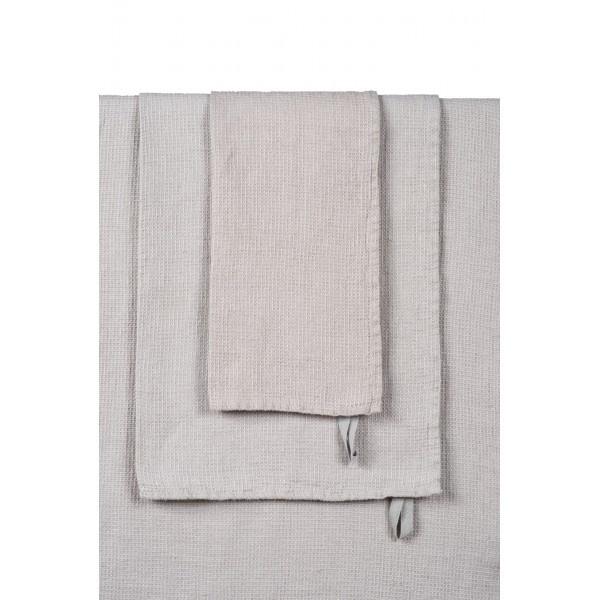 serviette de bain couleur lin