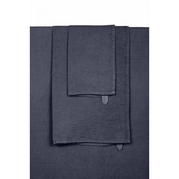 serviette de bain couleur denim