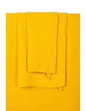 saffraankleurige badhanddoek