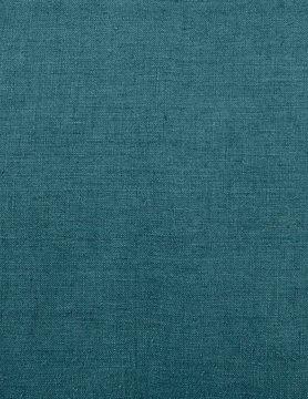 tissu lin stone wash bleu de prusse