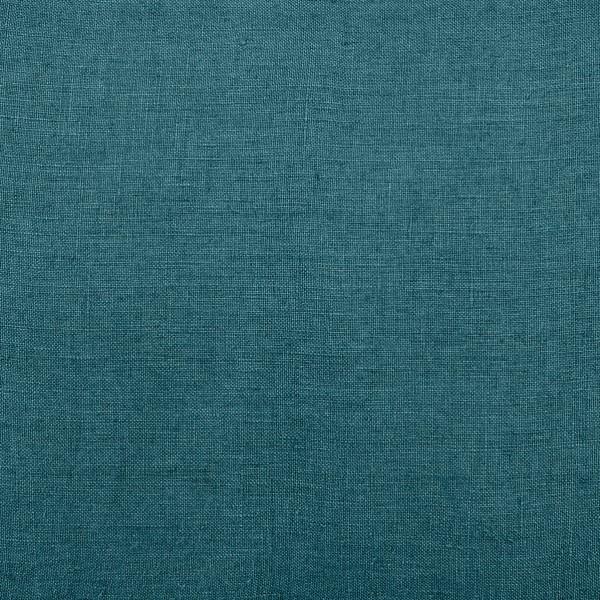 linnen stof stone wash pruisisch blauw