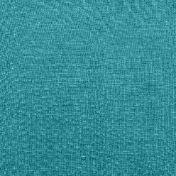 tissu lin stone wash vert paon