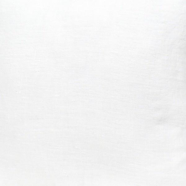 tissu lin stone wash  blanc optique