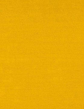 saffron yellow coated linen fabric
