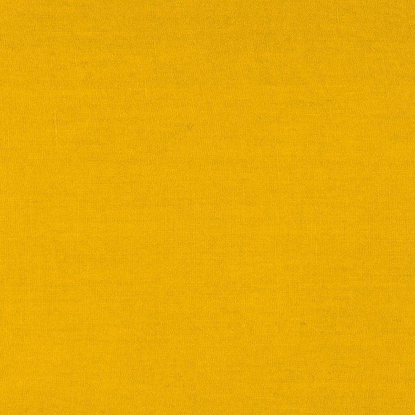 tissu lin enduit jaune safran