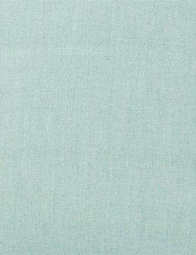 Tissu en lin enduit celadon