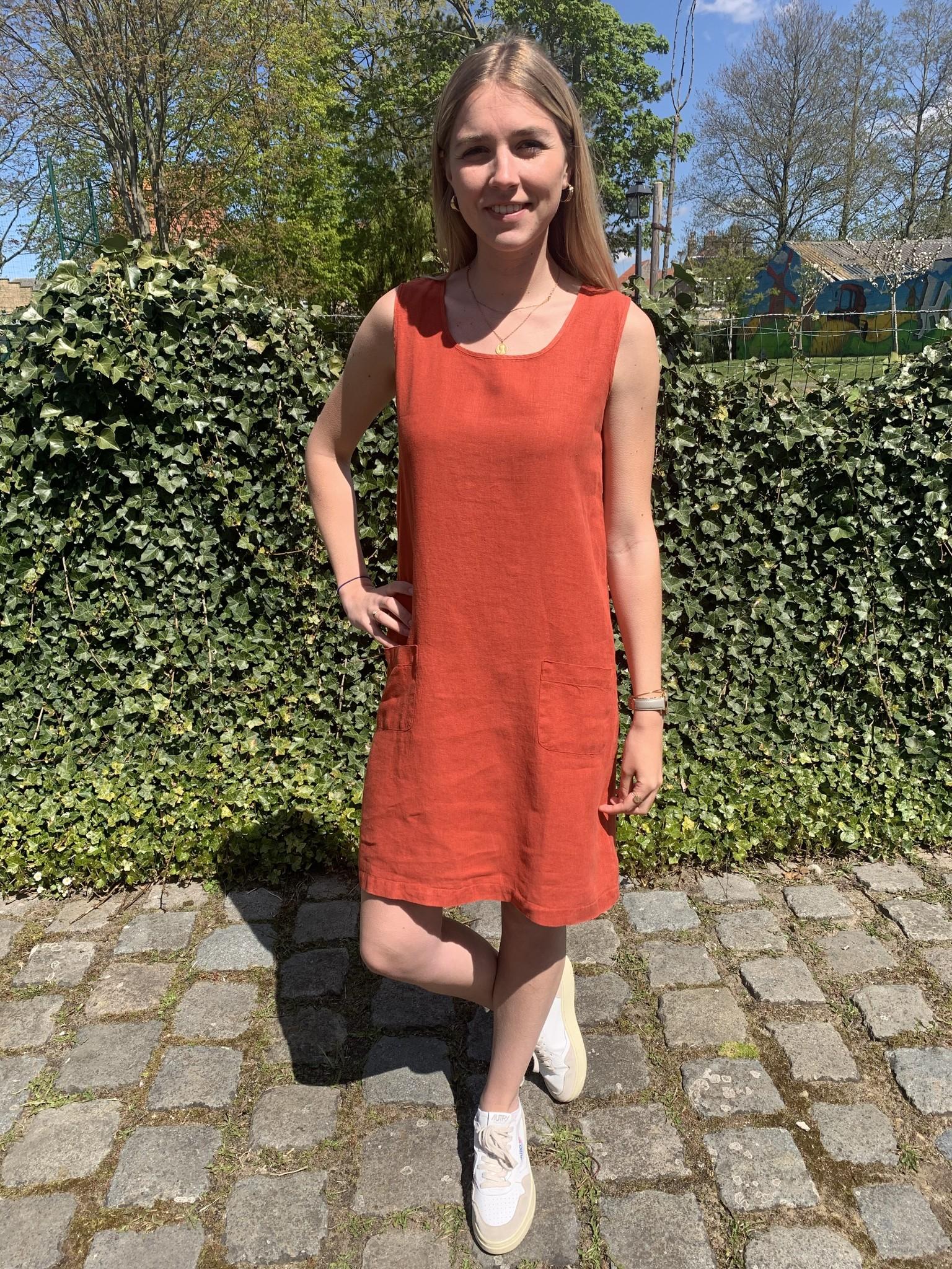 Haïti rode tomette jurk