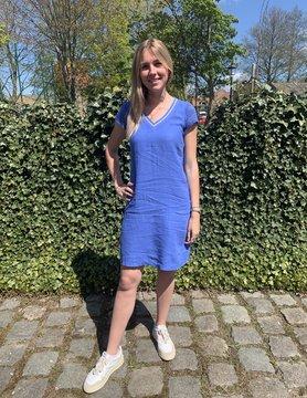 Maloka Robe raessa plonge bleuet