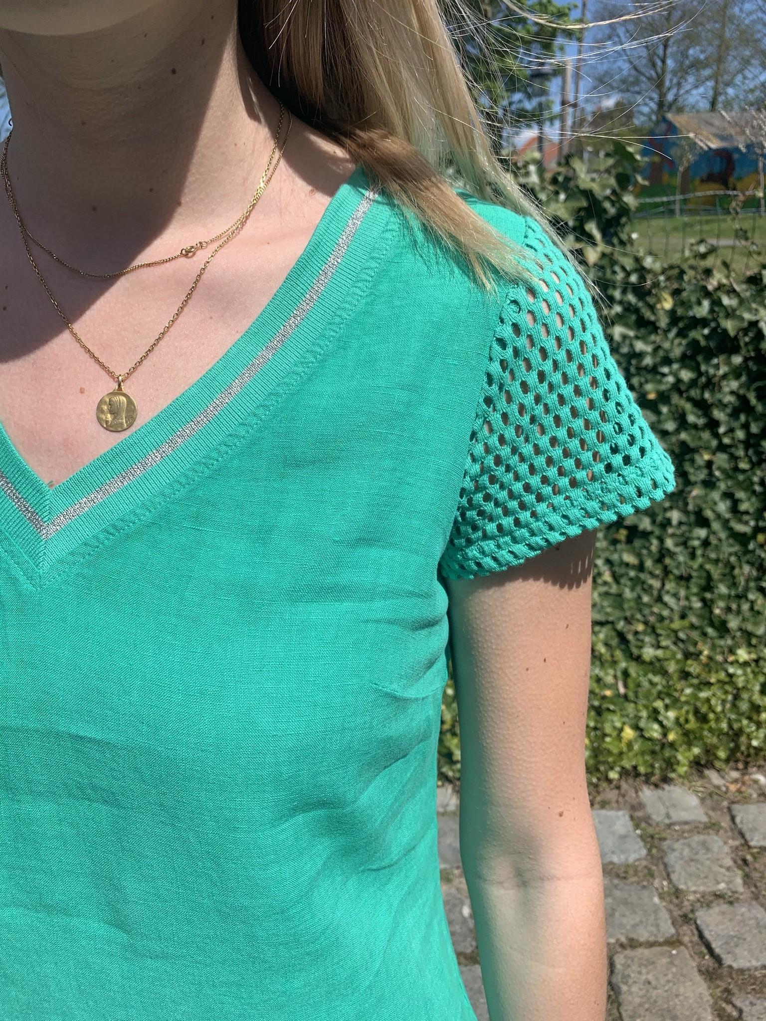 Maloka Robe raessa vert celadon