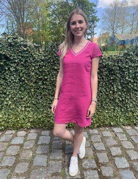 Maloka Fuchsia jurk