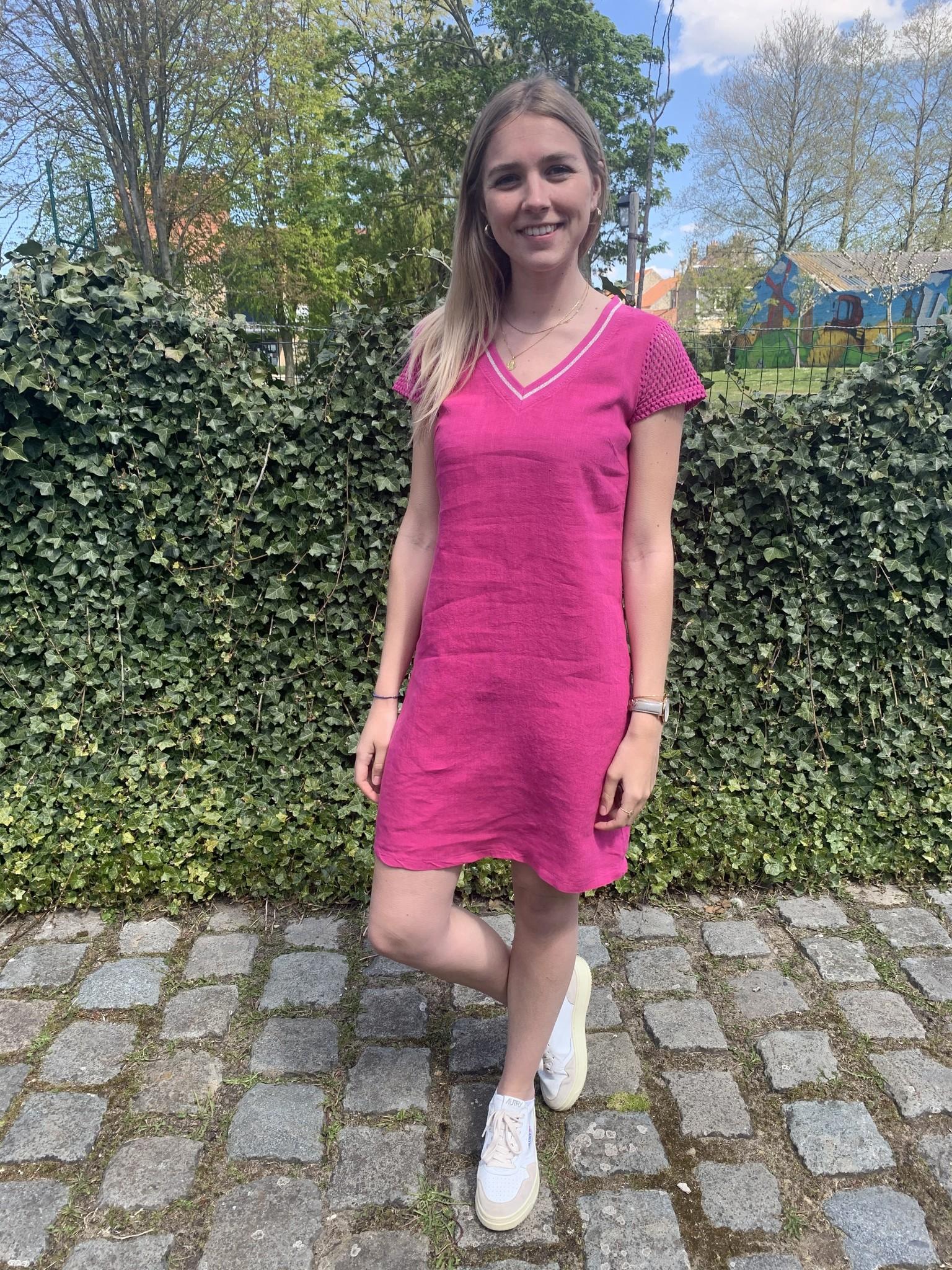 Maloka Fuchsia dress