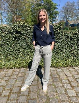 Women's trousers light khaki