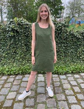 robe Haiti  vert sapin