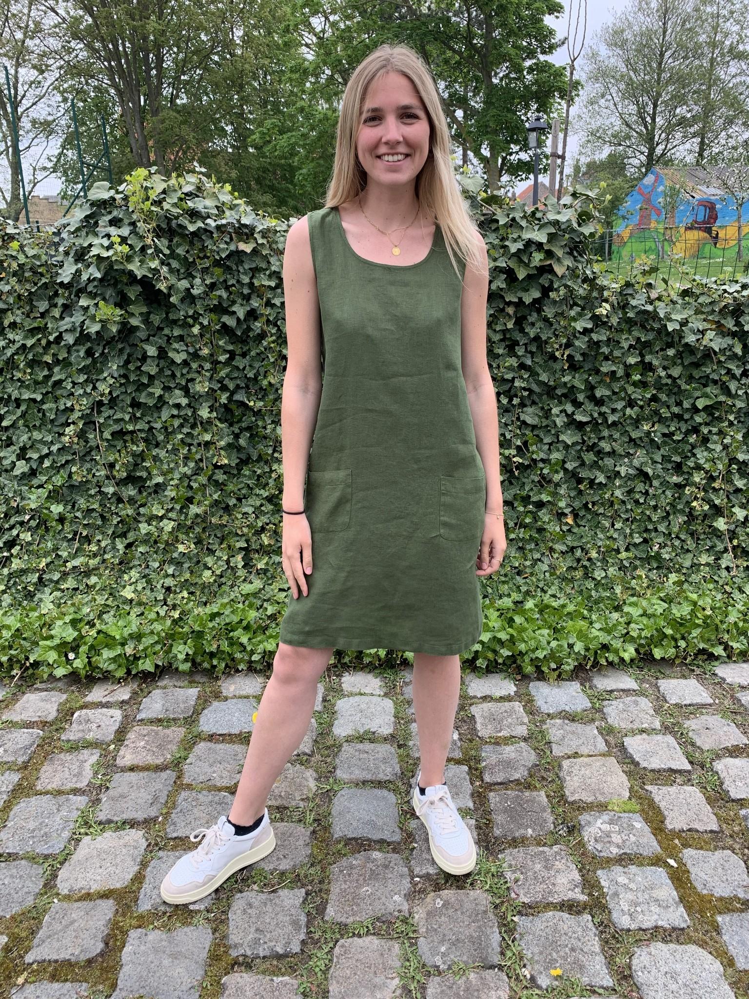Haiti fir green dress