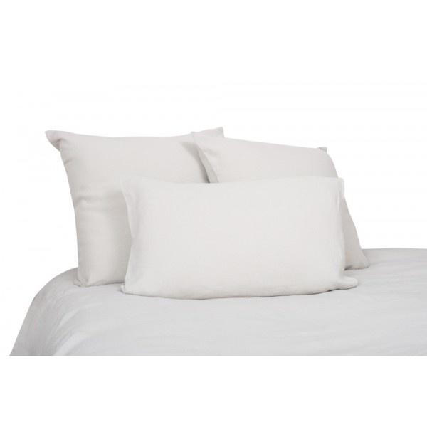 Duvet cover in natural washed linen