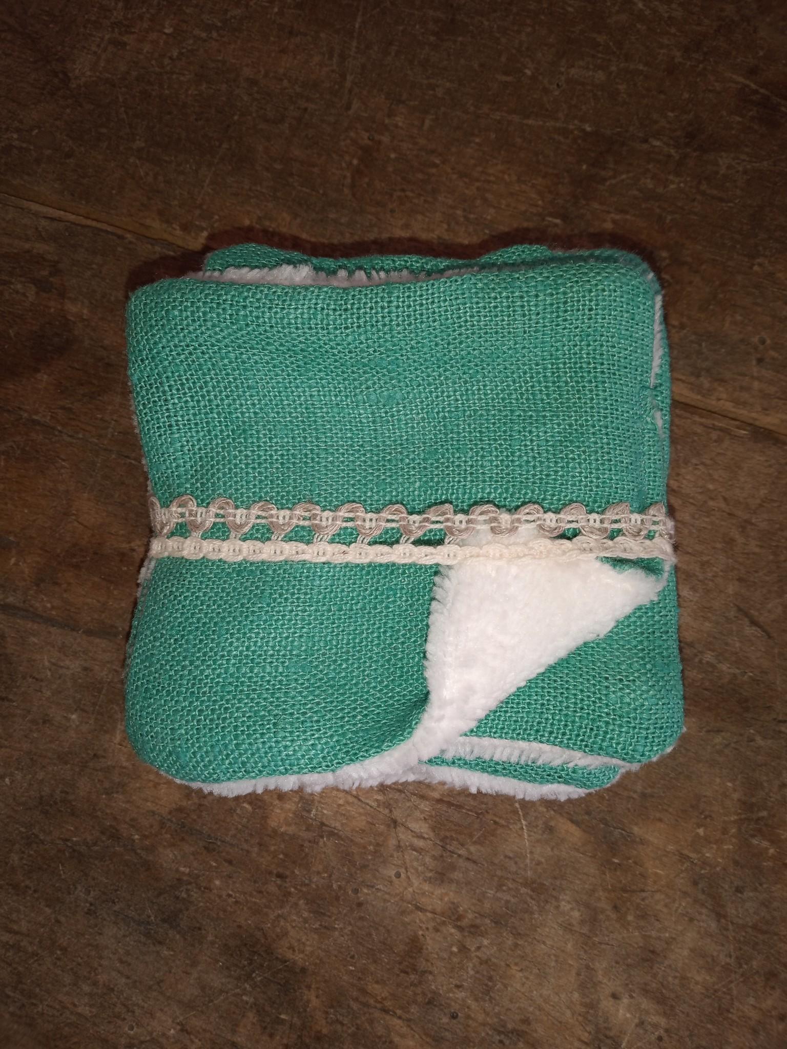 Le grenier du lin Pakje met 5 doekjes