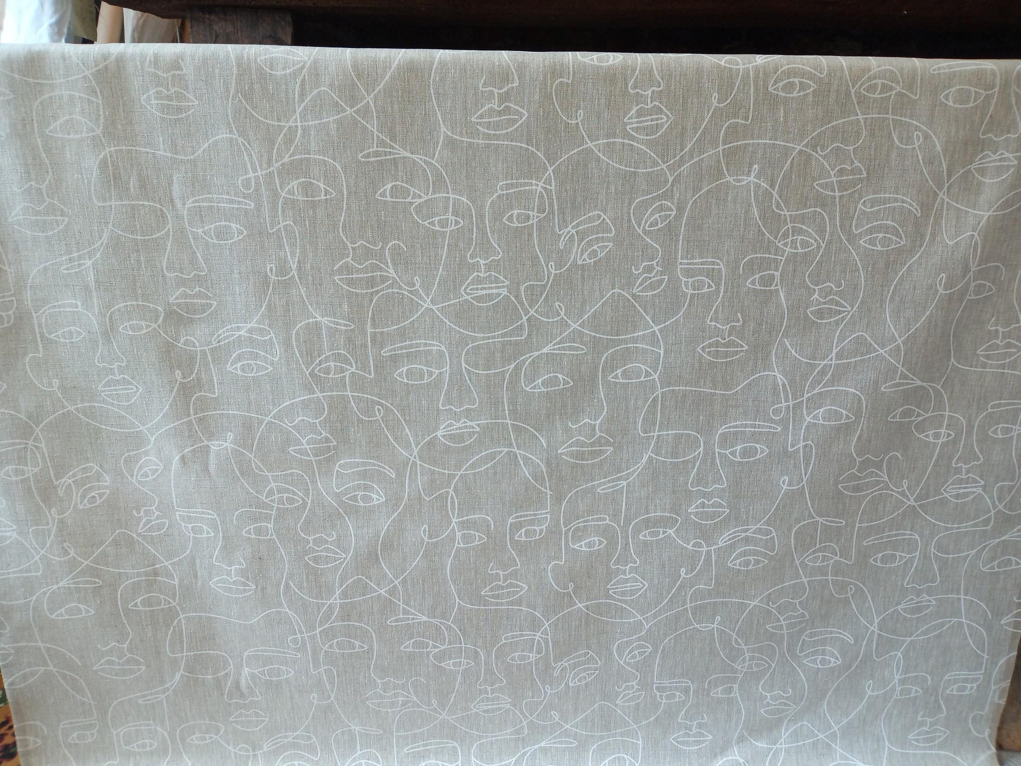 White face cloth