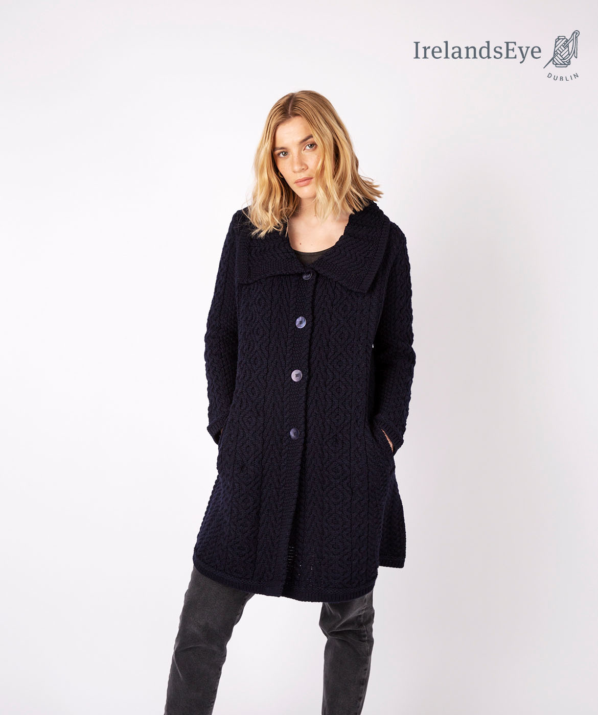 Irish willow coat A896