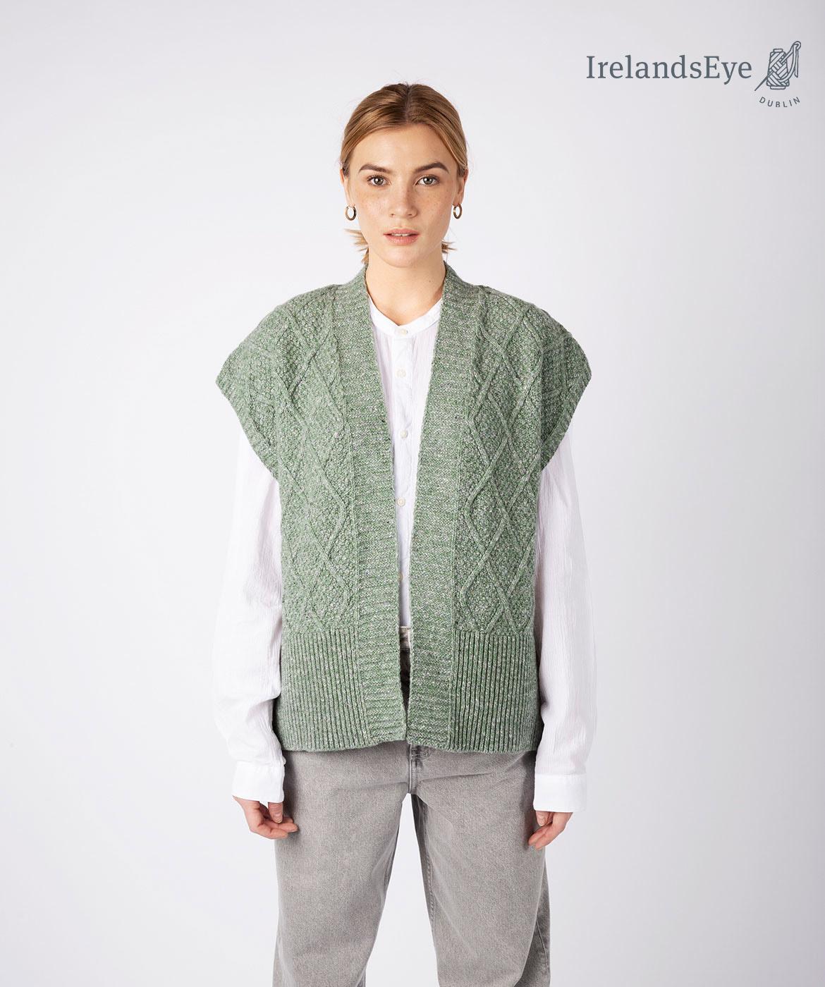 Irish waistcoat nettle A913