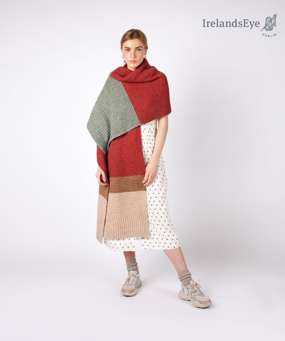 Elder brede sjaal A919