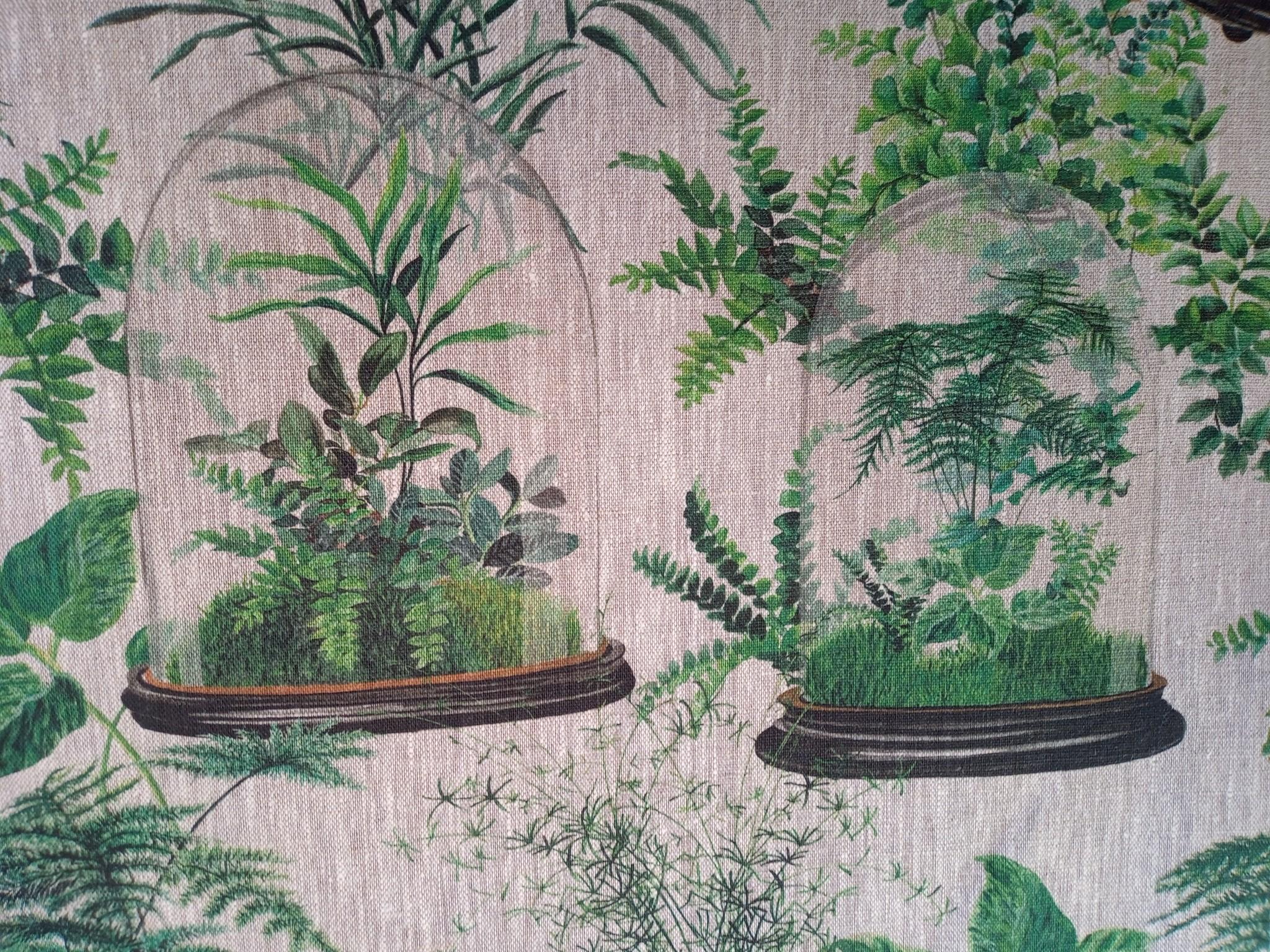Terrarium linnen stof