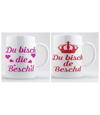 Pfälzer Kaffeetasse (Du bisch die/de Beschd)
