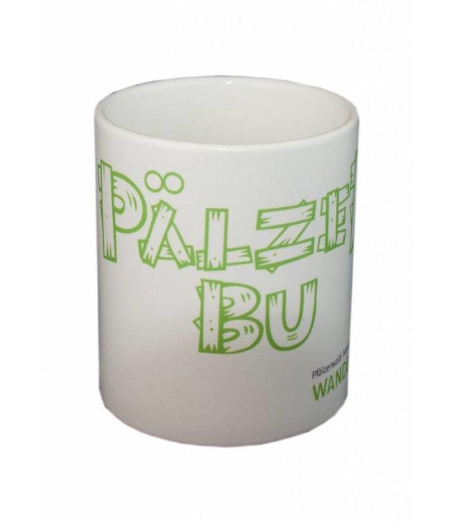 """""""Pälzer Bu"""" Kaffeetasse Wanderarena"""