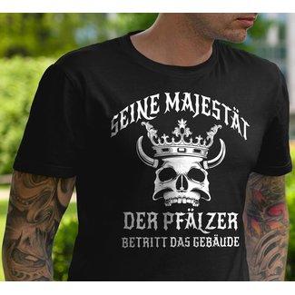 SEINE MAJESTÄT DER PFÄLZER BETRITT DAS GEBÄUDE