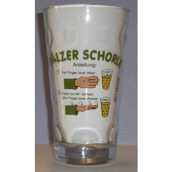 Pfälzer Schorle Anleitung Dubbeglas
