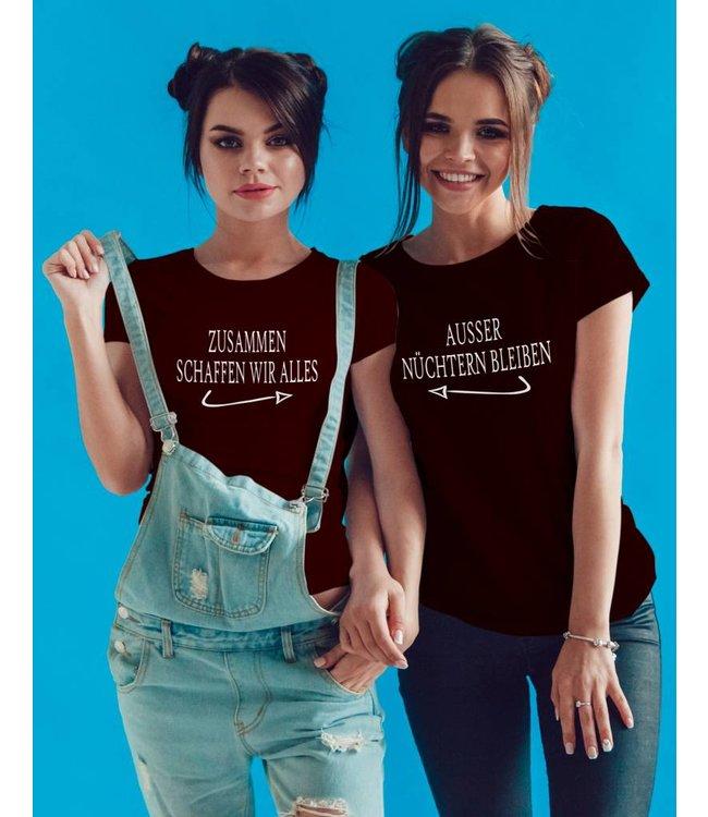 ZUSAMMEN SCHAFFEN WIR ALLES (Partner Shirts)