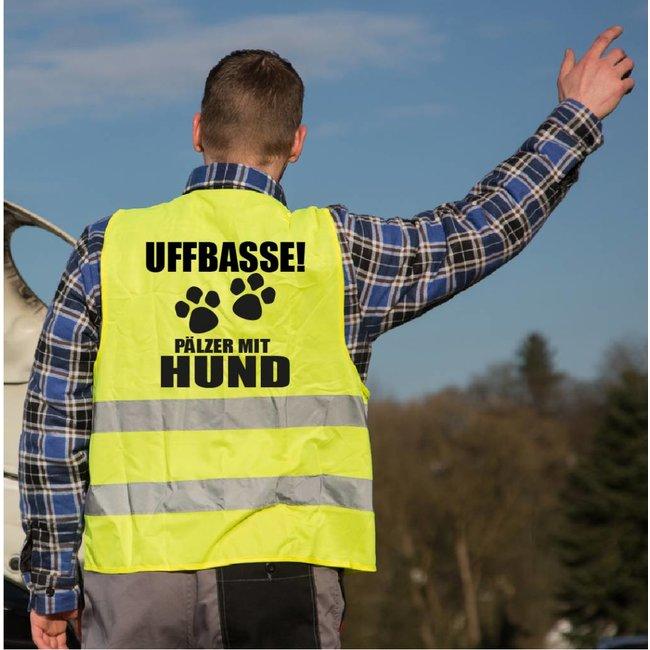 UFFBASSE Pfälzer/in mit Hund Warnweste