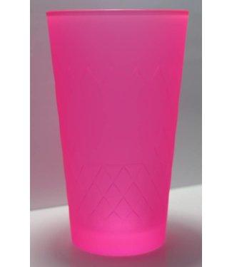 Apfelweinglas Neon Pink