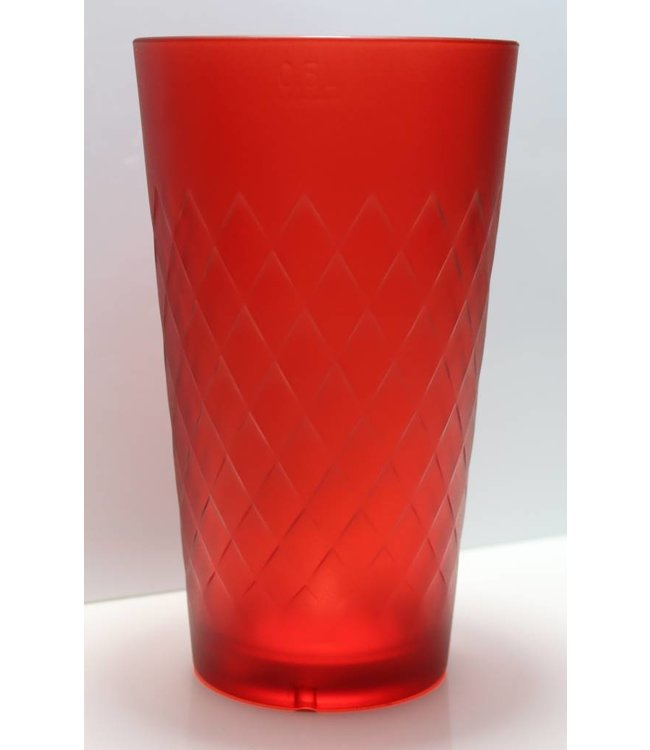 Apfelweinglas Rot