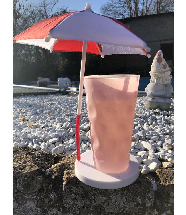 Dubbeglas /Bierglas Sonnenschirm