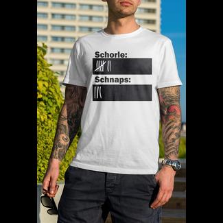 Kreideshirt (inkl. Kreide) Schorle/Bier/Sekt selbst bemalen