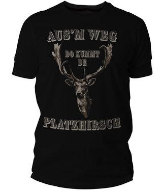 Platzhirsch T-Shirt - Pfalzshirt